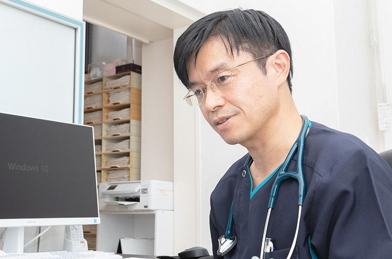 呼吸器専門医による診療