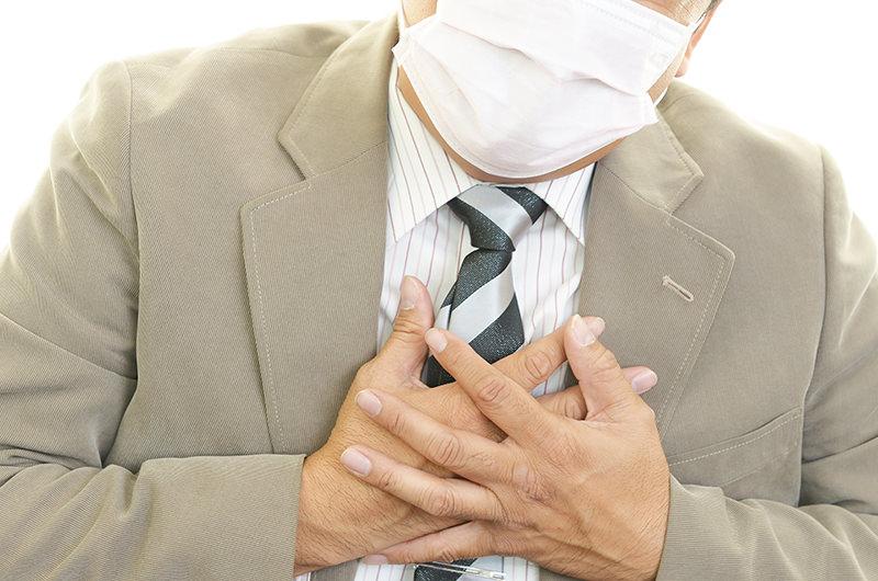 細菌・ウイルスの感染により肺で起こる病気